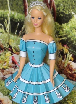 Alice Barbie Blue