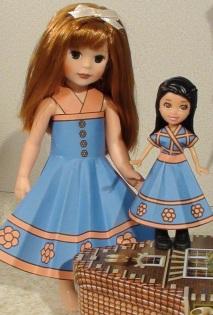 Heidi with doll