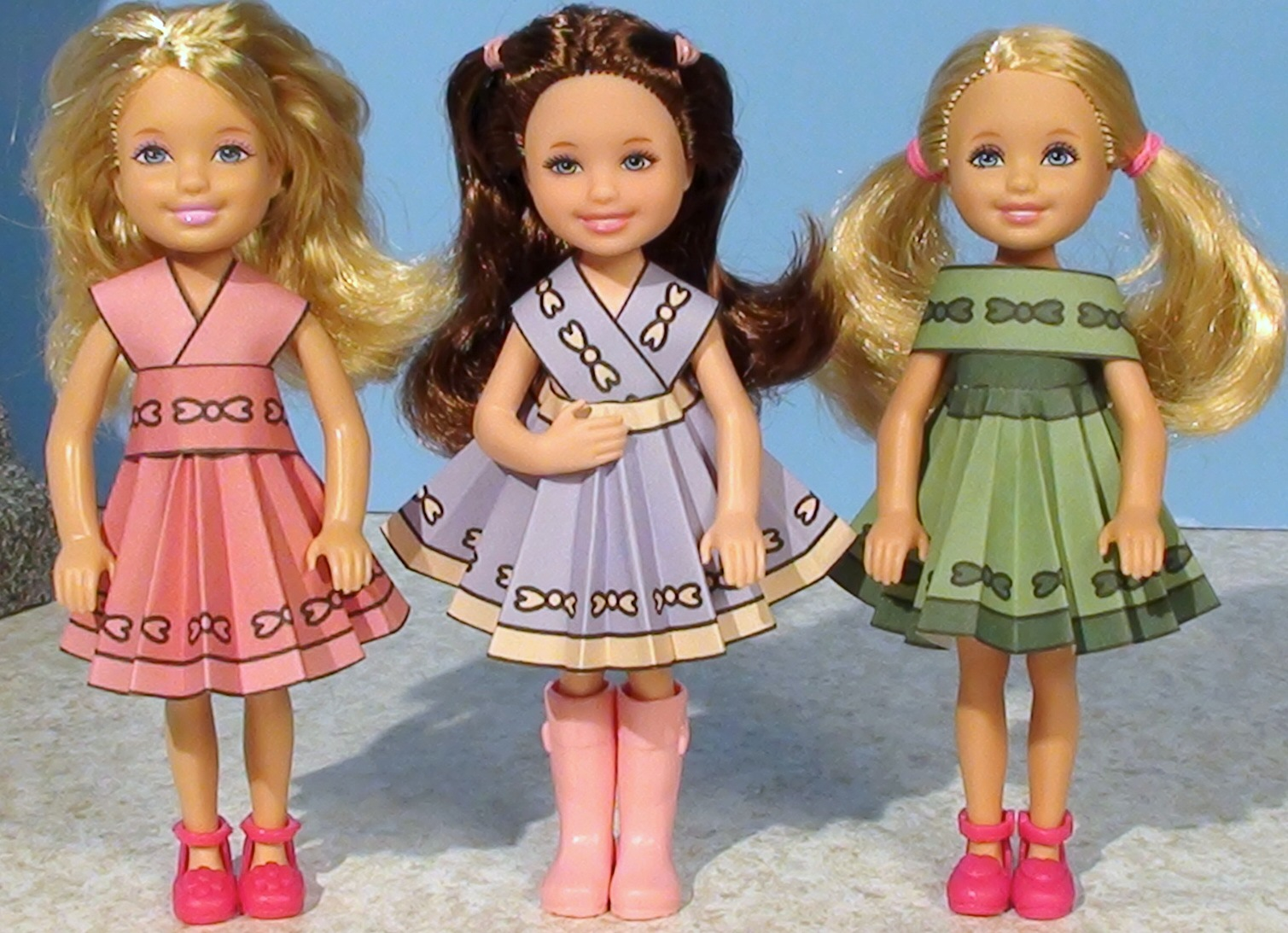 Barbie Printable Doll Clothes