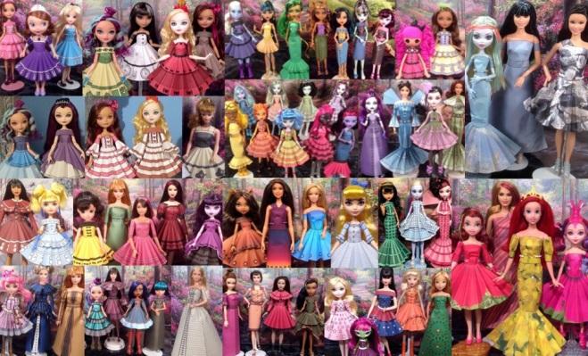 Printable Doll Clothes Mega Pack