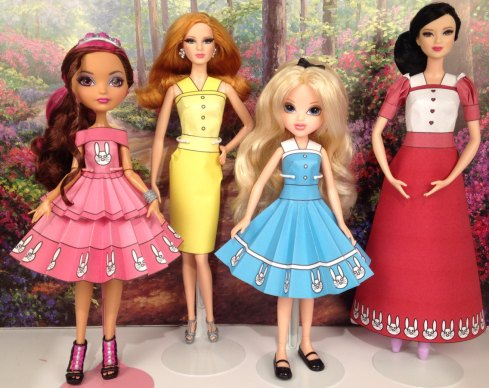 Printable Doll Clothes Alice