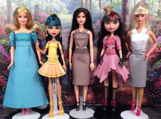 Printable Doll Clothes Amanda
