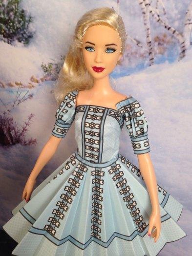 Marie Blue Dress