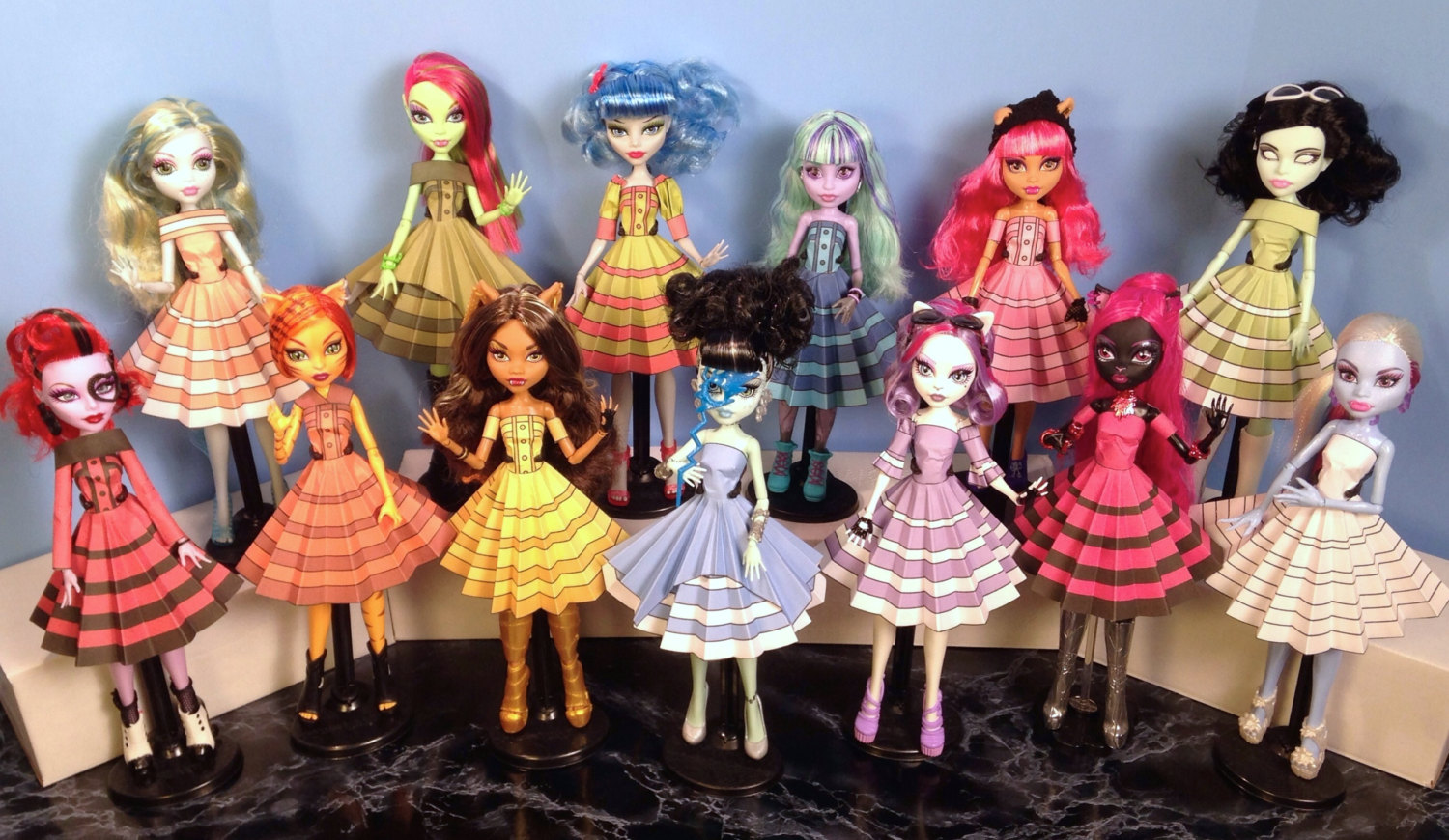 Monster High Printable Doll Clothes