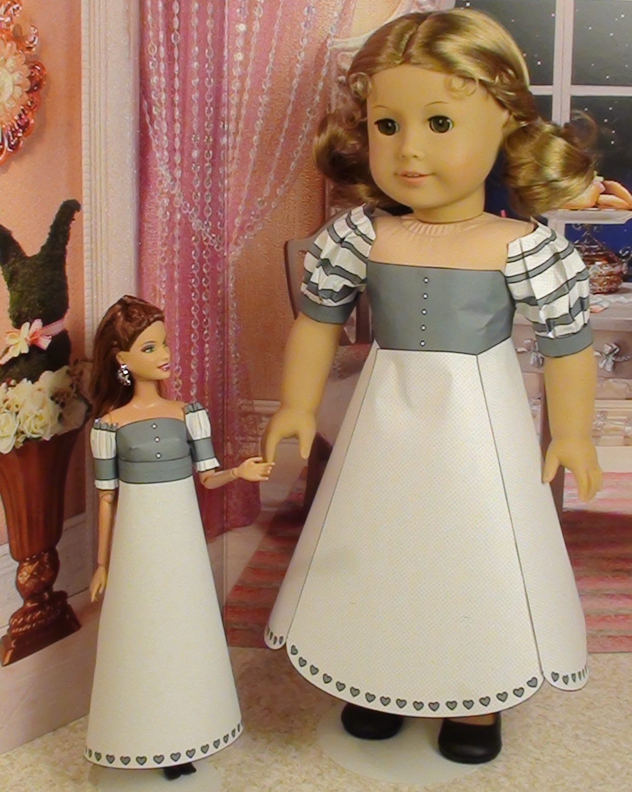 ... girl dolls wanted a new dress so i made her one my barbie fashionista