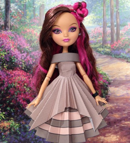 Briar Beauty Cheshire Cat Printable Doll Clothes