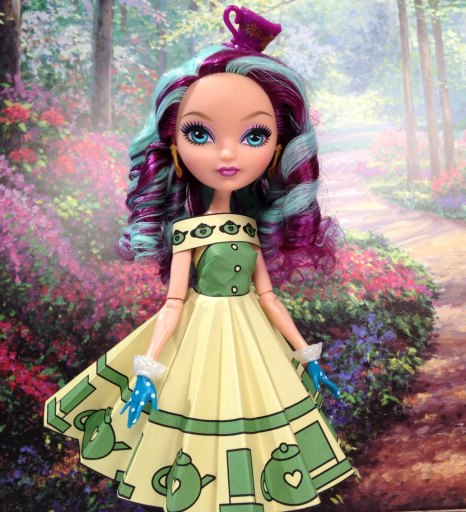 Madeline Hatter Printable Doll Clothes