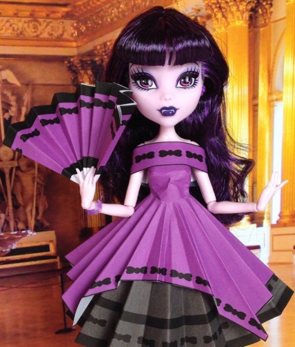 Monster High Frights, Camera, Action! Elissabat Doll