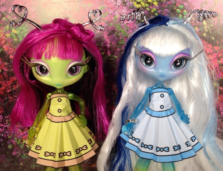 Novi Stars wearing Printable Doll Clothes