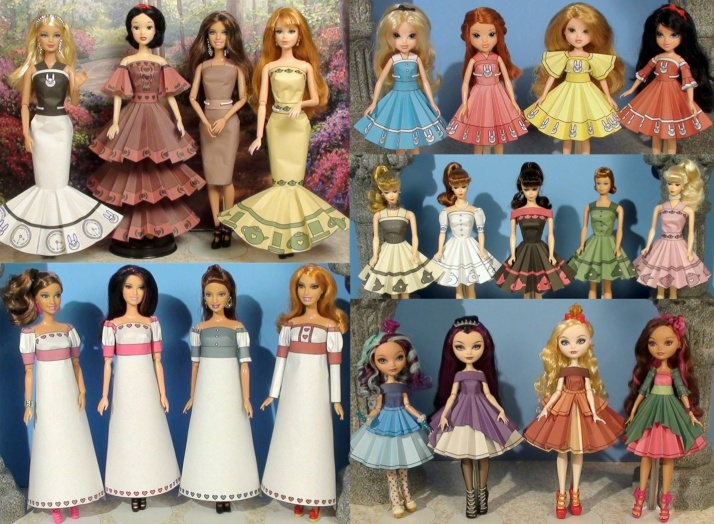 Printable Doll Clothes Volume 1