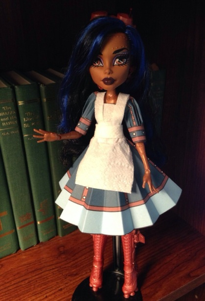 Robecca Seam Printable Doll Clothes