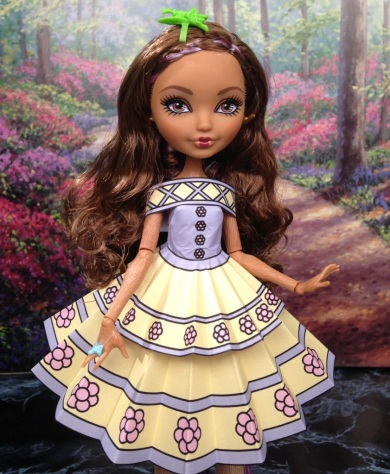 Cedar Wood Printable Doll Clothes