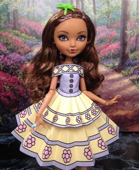 Cedar Wood Printable Doll Clothes