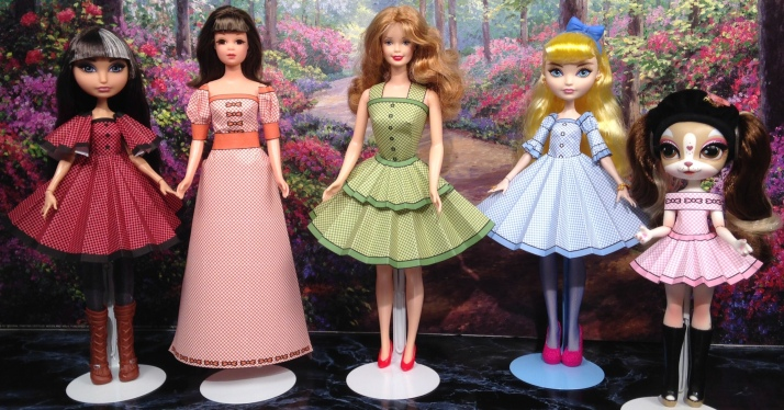 Printable Doll Clothes Dorothy