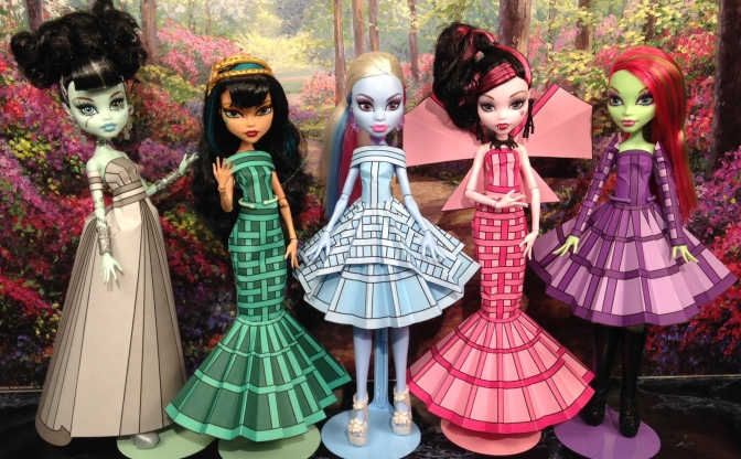 Printable Doll Clothes Olivia