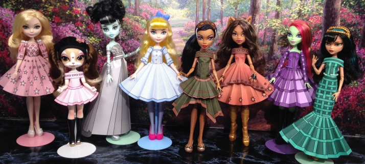 Printable Doll Clothes Oz Inspired