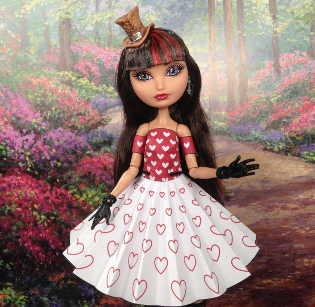 Printable Doll Clothes New Dress for Cerise Hood