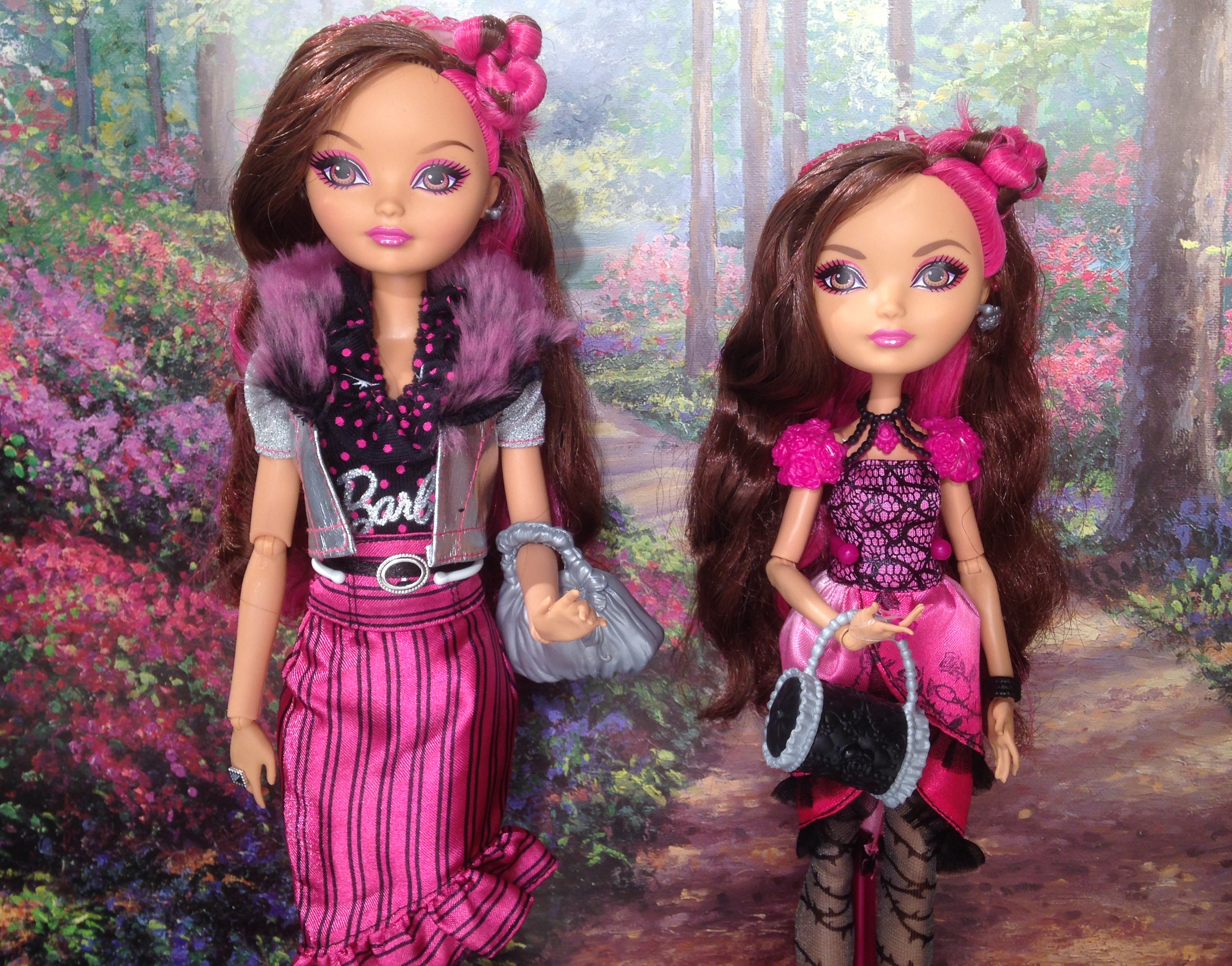 Barbie Ever After High Looks - Cool Girls Play Free Games
